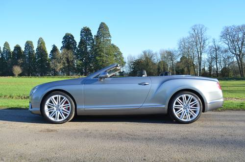 2012 BENTLEY GTC V8 MULLINER 2013 MODEL For Sale (picture 2 of 6)