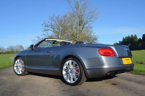 2012 BENTLEY GTC V8 MULLINER 2013 MODEL For Sale (picture 6 of 6)