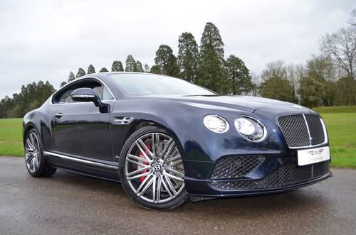 2015 BENTLEY GT SPEED 2016 MODEL For Sale (picture 1 of 6)