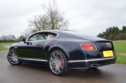 2015 BENTLEY GT SPEED 2016 MODEL For Sale (picture 6 of 6)