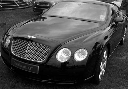 Bentley Continental GT  For Hire (picture 1 of 4)