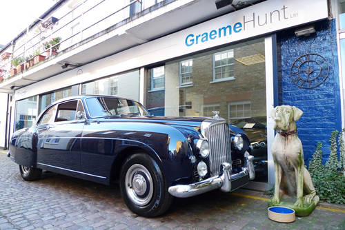 Bentley S1 Continental Fastback by H. J. Mulliner 1957 For Sale (picture 1 of 6)