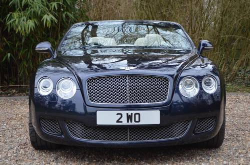 BENTLEY CONTINENTAL GTC MULLINER 2010 MODEL For Sale (picture 3 of 6)