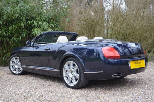 BENTLEY CONTINENTAL GTC MULLINER 2010 MODEL For Sale (picture 5 of 6)