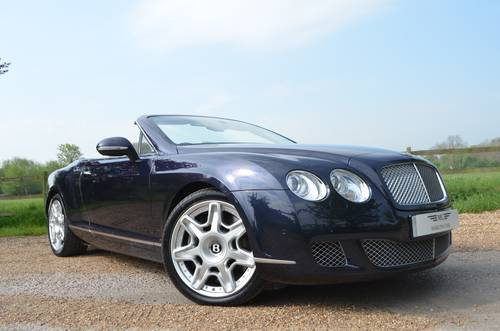 BENTLEY CONTINENTAL GTC MULLINER 2010 MODEL For Sale (picture 1 of 6)