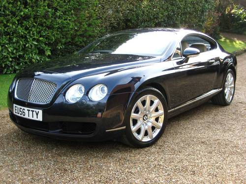 2006 Bentley Continental GT With Just 22,000 Miles From New For Sale (picture 1 of 6)