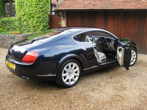 2006 Bentley Continental GT With Just 22,000 Miles From New For Sale (picture 5 of 6)