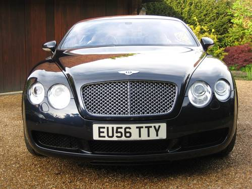 2006 Bentley Continental GT With Just 22,000 Miles From New For Sale (picture 6 of 6)