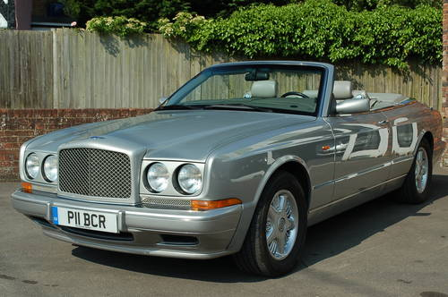 Bentley Azure LHD 1997 - UK registered For Sale (picture 1 of 6)