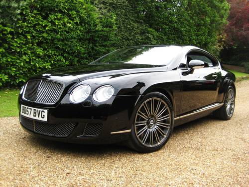 2007 Bentley Continental GT Speed 08MY Just Serviced By Bentley For Sale (picture 2 of 6)