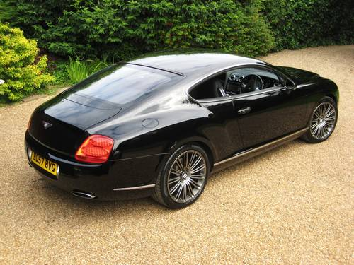 2007 Bentley Continental GT Speed 08MY Just Serviced By Bentley For Sale (picture 6 of 6)
