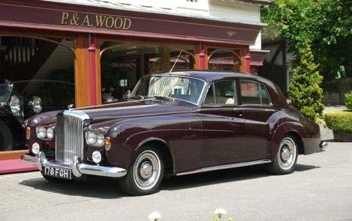 Bentley S3 1963 Standard Saloon For Sale (picture 1 of 3)