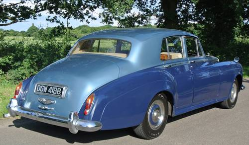 1963 BENTLEY S3 SALOON              For Sale (picture 3 of 6)
