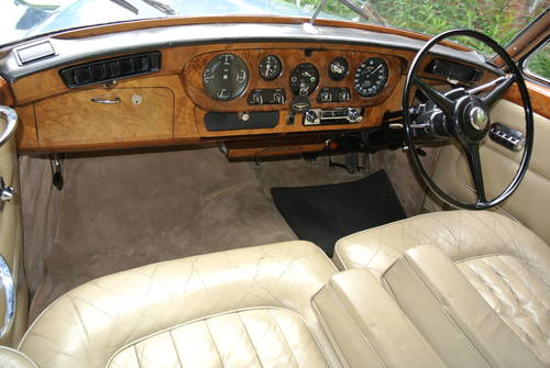 1963 BENTLEY S3 SALOON              For Sale (picture 5 of 6)