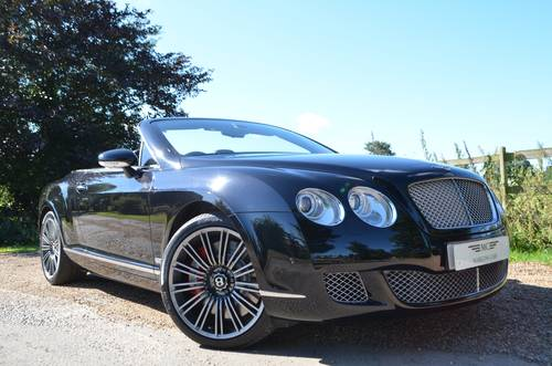 2009 BENTLEY CONTINENTAL MULLINER GTC SPEED LOOK For Sale (picture 1 of 6)