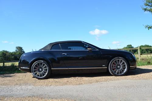 2009 BENTLEY CONTINENTAL MULLINER GTC SPEED LOOK For Sale (picture 6 of 6)