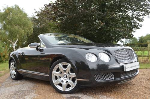 BENTLEY CONTINENTAL GTC MULLINER 2008 For Sale (picture 1 of 6)