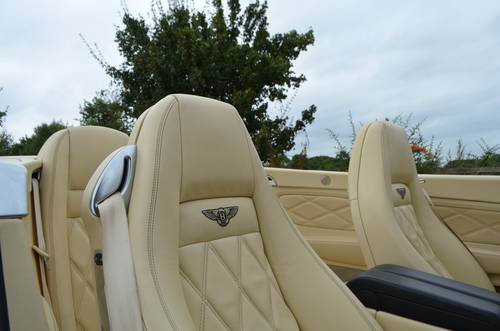 BENTLEY CONTINENTAL GTC MULLINER 2008 For Sale (picture 4 of 6)