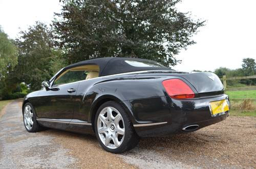 BENTLEY CONTINENTAL GTC MULLINER 2008 For Sale (picture 5 of 6)