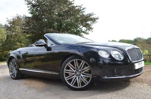 BENTLEY GTC SPEED 2015/15 For Sale (picture 1 of 6)