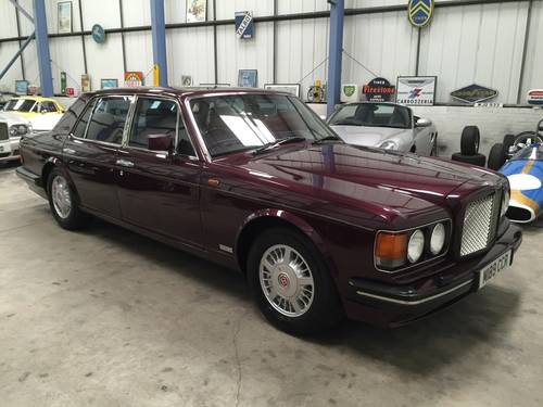 1994 BENTLEY TURBO R SOLD (picture 1 of 6)