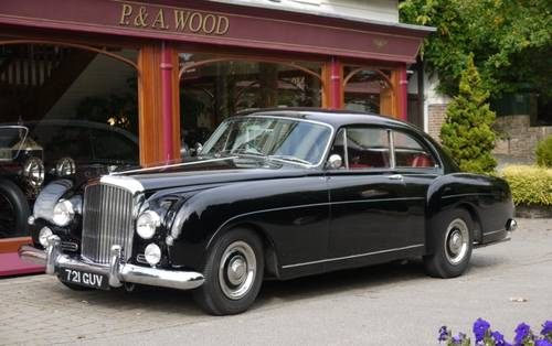 Bentley S1 Continental 1957 2-door Fastback by H.J.Mulliner For Sale (picture 1 of 3)