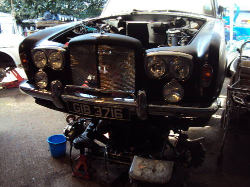 1971 Bentley T TYPE Turbo R Special unfinnished project  For Sale (picture 5 of 6)