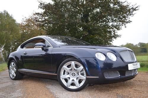 2005 BENTLEY CONTINENTAL GT MULLINER COUPE For Sale (picture 1 of 6)