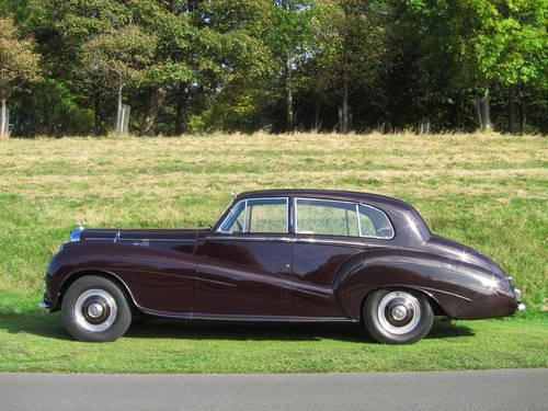 1952 Bentley MK VI (H.J.Mulliner Light Body) For Sale (picture 1 of 5)