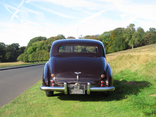 1952 Bentley MK VI (H.J.Mulliner Light Body) For Sale (picture 4 of 5)