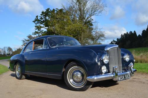 1956 Bentley Continental S1 fastback For Sale (picture 1 of 6)