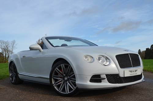 2014 BENTLEY GTC SPEED  For Sale (picture 1 of 6)