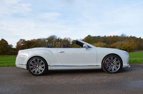 2014 BENTLEY GTC SPEED  For Sale (picture 5 of 6)
