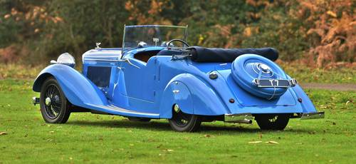 1937 Derby Bentley 4.25 Litre Drop head For Sale (picture 2 of 6)