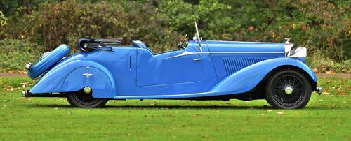 1937 Derby Bentley 4.25 Litre Drop head For Sale (picture 3 of 6)