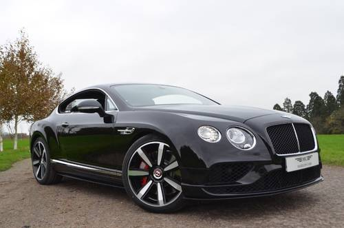 BENTLEY GT V8S 2016/66 For Sale (picture 1 of 6)