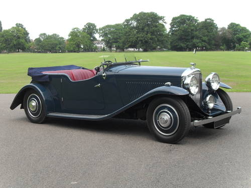 1936 Bentley 4 1/4 Litre Open Tourer by Corsica For Sale (picture 1 of 1)
