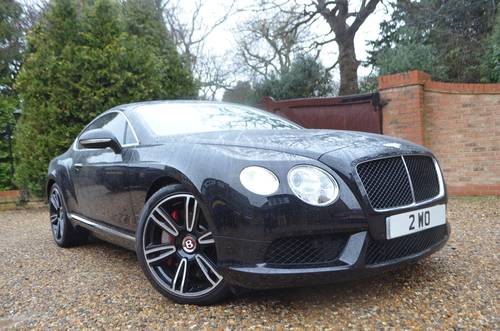 2012 Bentley Continental GT V8 Mulliner For Sale (picture 1 of 6)
