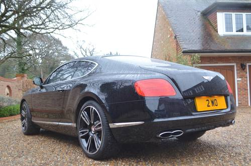 2012 Bentley Continental GT V8 Mulliner For Sale (picture 4 of 6)