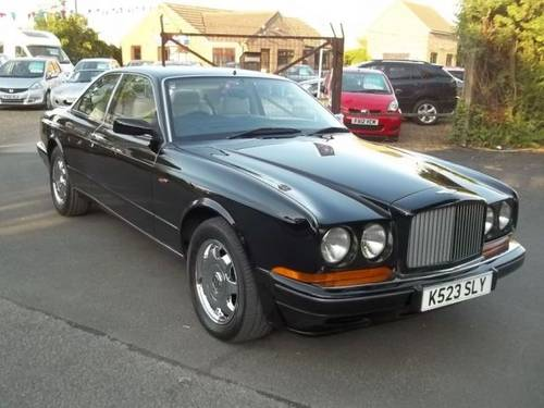 1993 k bentley continental 6.8 4d auto For Sale (picture 1 of 6)
