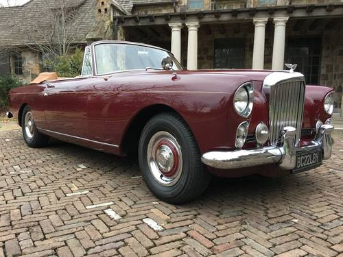 1962 Bentley S2 Continental Park Ward Convertible Left-Hand- For Sale (picture 1 of 4)