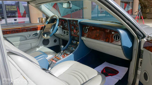 1999 Bentley Continental SC Targa with only 16k miles. For Sale (picture 4 of 6)