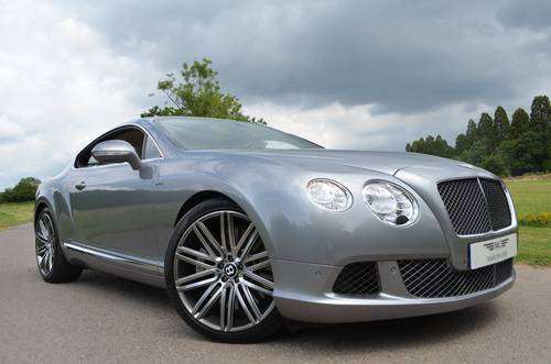 2013 BENTLEY GT SPEED COUPE 2014 MODEL For Sale (picture 1 of 6)