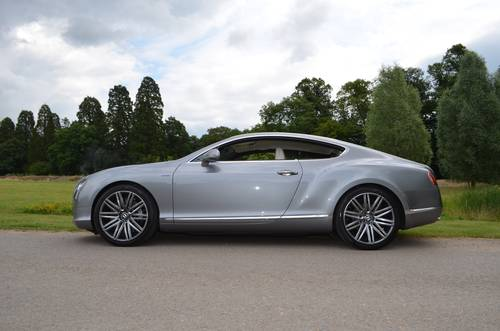 2013 BENTLEY GT SPEED COUPE 2014 MODEL For Sale (picture 3 of 6)