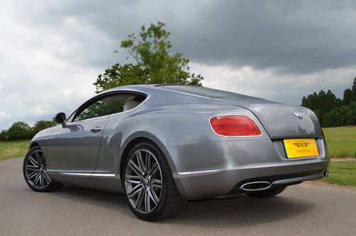 2013 BENTLEY GT SPEED COUPE 2014 MODEL For Sale (picture 6 of 6)