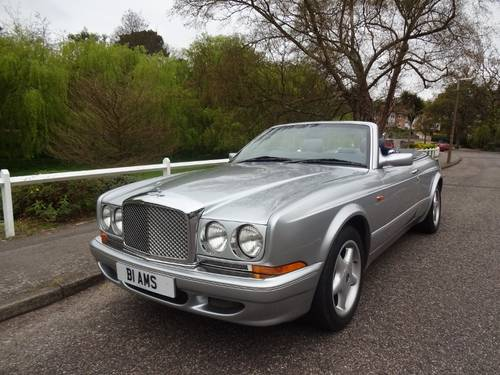 1997 BENTLEY AZURE JACK BARCLAY SPECIAL Mulliner Park Ward For Sale (picture 1 of 6)