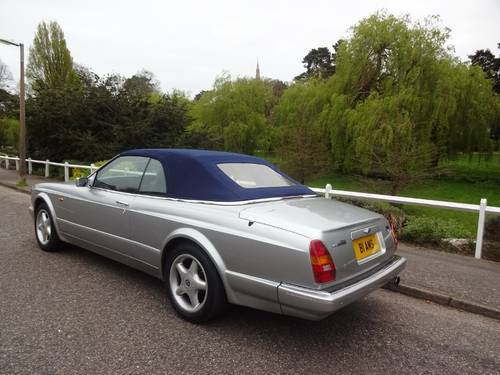 1997 BENTLEY AZURE JACK BARCLAY SPECIAL Mulliner Park Ward For Sale (picture 3 of 6)