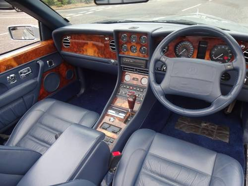 1997 BENTLEY AZURE JACK BARCLAY SPECIAL Mulliner Park Ward For Sale (picture 4 of 6)