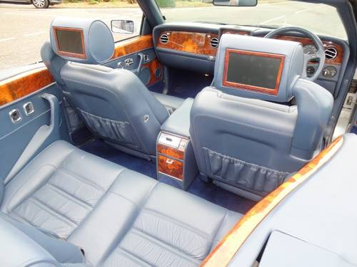 1997 BENTLEY AZURE JACK BARCLAY SPECIAL Mulliner Park Ward For Sale (picture 6 of 6)