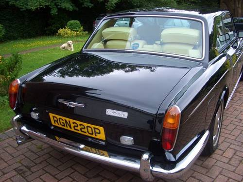 1976 Rolls-Royce / Bentley Corniche Series 1A SOLD (picture 4 of 6)